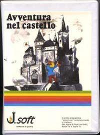 La copertina della versione Apple II, realizzata dalla J.Soft