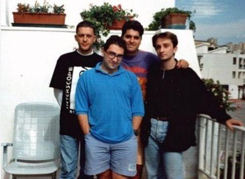 Meeting dei Ram Jam nel lontano 1995. Da sinistra verso destra: Dr.G/Ram Jam, Android/Talent, Vega/Ram Jam, Kaosmaster/Ram Jam