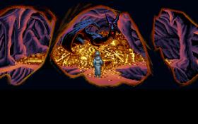 L'antro del drago nello splendore dei 256 colori VGA - clicca per vedere l'immagine ingrandita